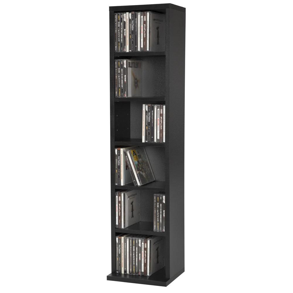 etagere rangement cd dvd meuble de