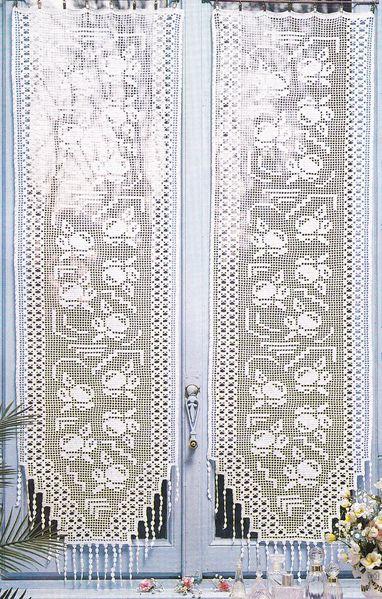 crochet rideau pas cher destine rideaux