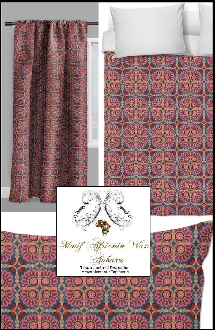 tissu style africain ankara pagne wax