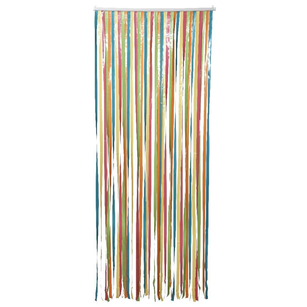 rideau de porte bambou gifi avec rideau