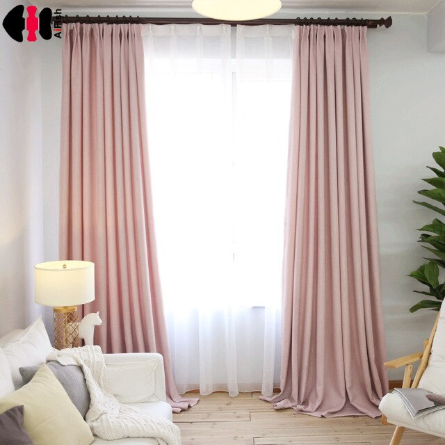 style simple rose linge tissu chambre