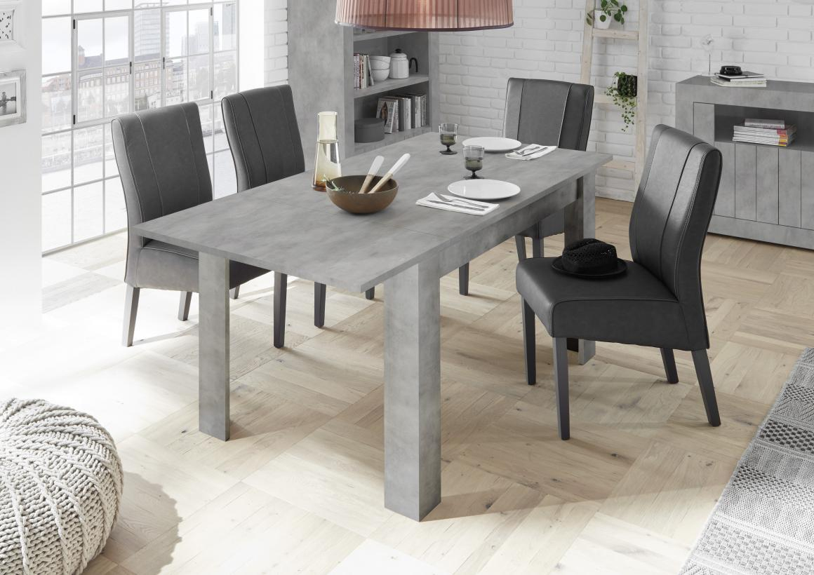 table grise extensible table a manger