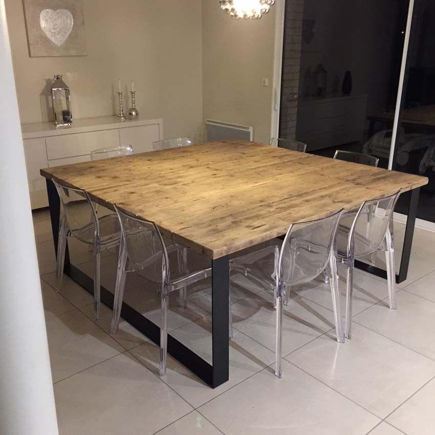 tables industrielles l or du temps
