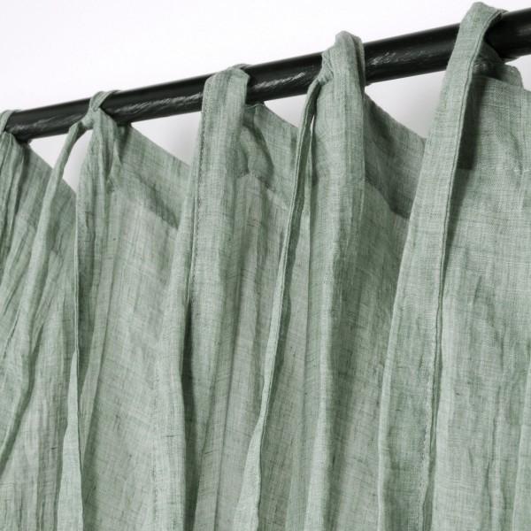 voilage 140 x 240 cm simeo vert