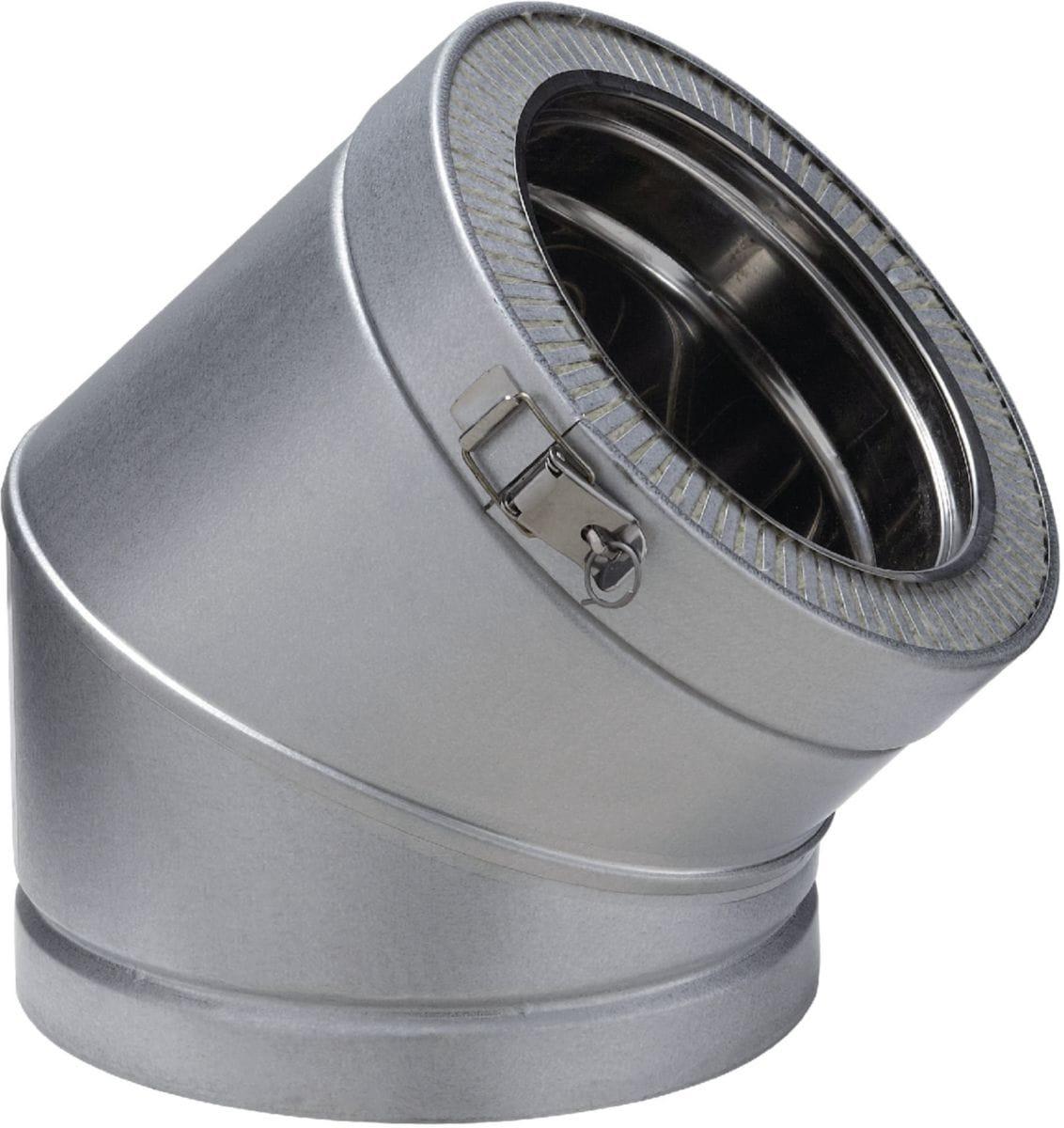 Poujoulat Coude 45 Double Paroi Pour Conduit De Concernant Tube Inox Cheminee Leroy Merlin Agencecormierdelauniere Com Agencecormierdelauniere Com