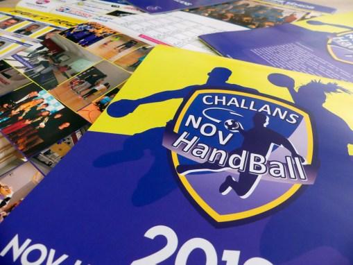 Calendrier du Challans Nov Handball