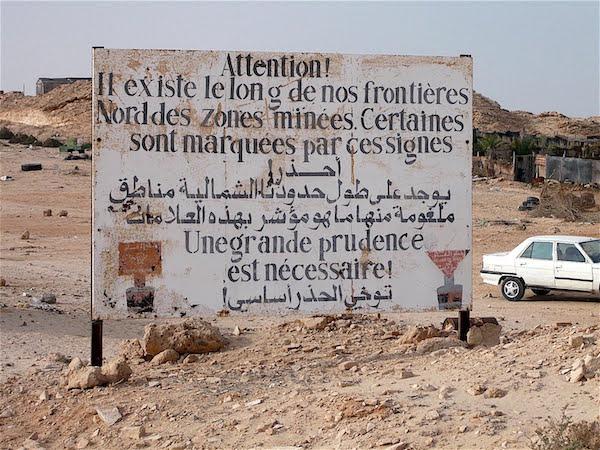 mines frontières