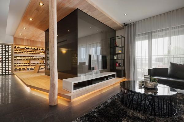 Lgant Appartement Damericaine Taipei Prsentant Des