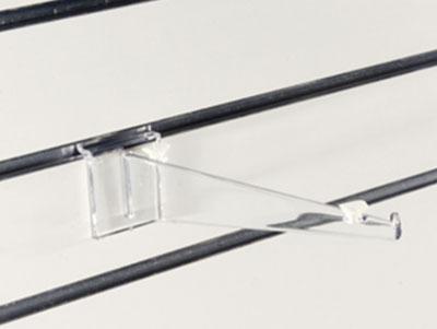 support tablette verre avec arret
