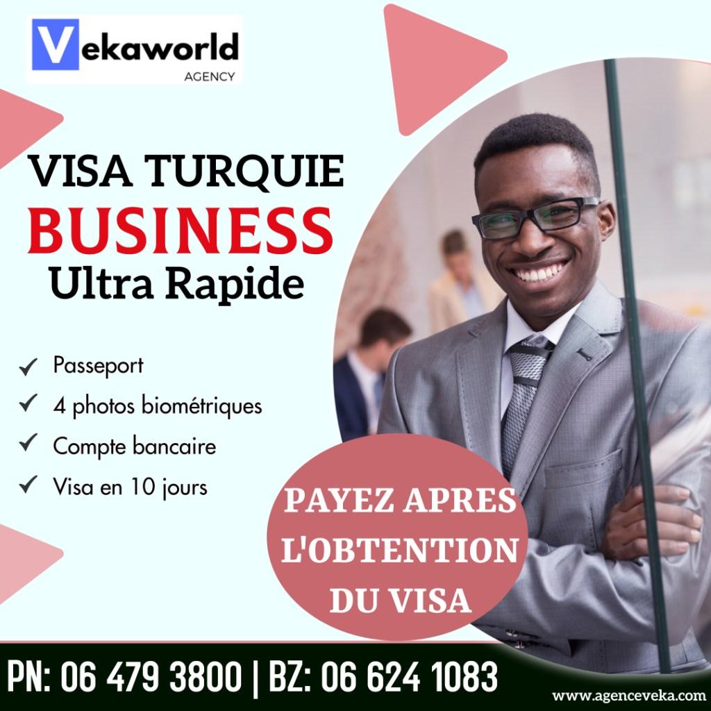 Visa business pour la Turquie