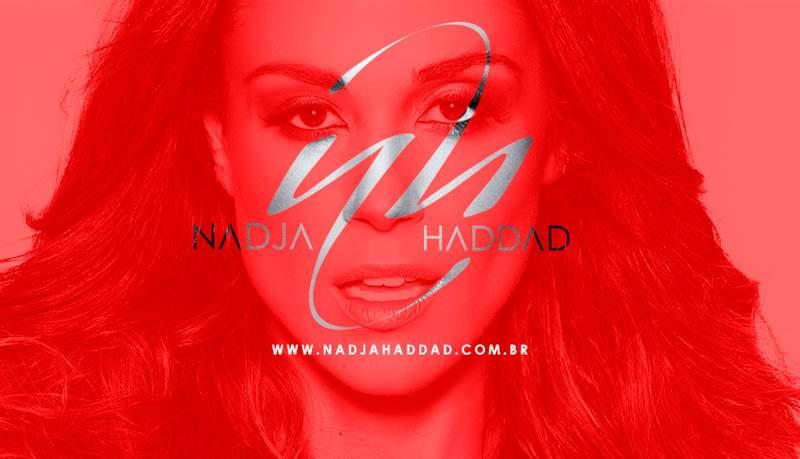 Criação Logotipo Nadja Haddad