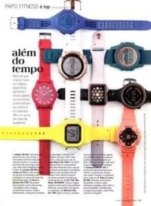 Assessoria de Imprensa Moda: Relógios na Revista Boa Forma.