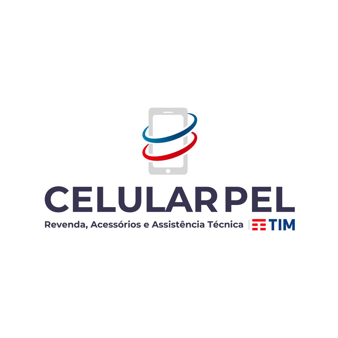 Criação de Logotipo - Loja CelularPel TIM - Pelotas