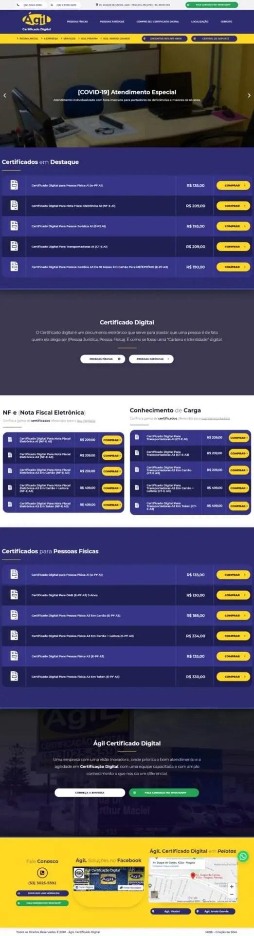Captura da Web_7-2-2021_16551_www.agilcertificacao.com.br