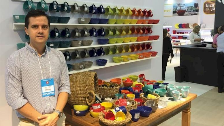 Vajillas Corona presente en la Feria Abup Home & Gift en Brasil