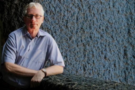 <p>El primatólogo Frans de Waal en Barcelona. / SINC</p>