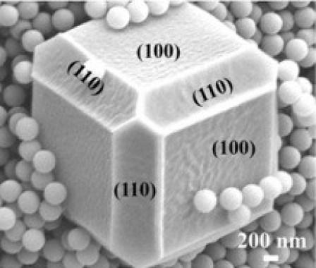 <p>Los investigadores han encapsulado nanoestructuras metálicas dentro de armazones metalorgánicos. /Universidad de Córdoba</p>
