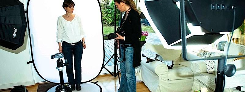 Fotoshooting für neue Genzyme-Kampagne
