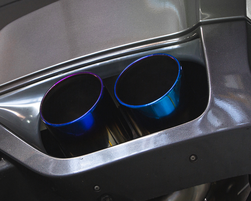 https www agencypower com blog agency power titanium exhaust system 90mm piping with blued 120mm tips nissan r35 gt r 09 16 5