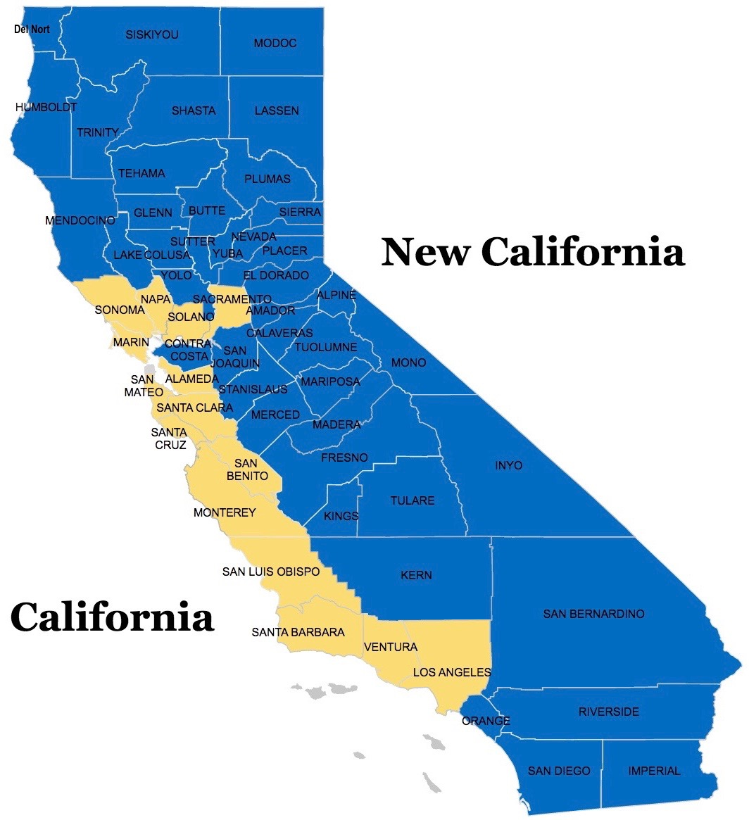 map of new california  agenda  radio - map of new california agenda  radio