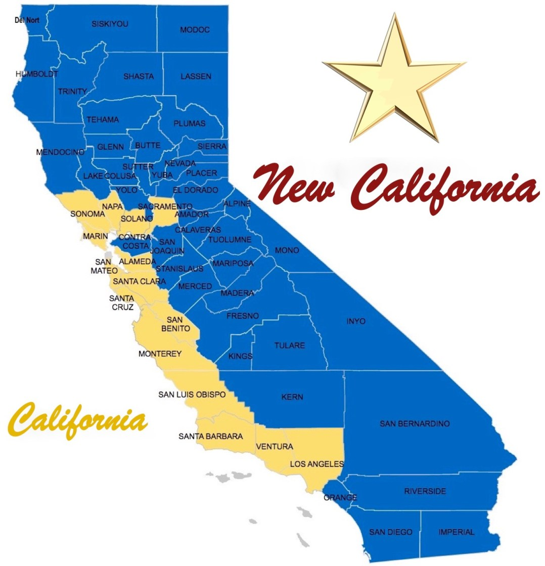 New California State Is Growing Three More Counties Join New - Counties in california