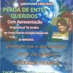 Palestra Perda de entes queridos com Célia Diniz em Uchoa – SP