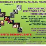 Mocidade Esp. Anália Franco convida para Encontro de Psicografia e Arte Mediúnica em Guarulhos – SP