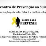 CVV convida para Encontro de Prevenção do Suicídio