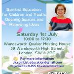 "Public meeting: ""Spiritist Education for Children and Youth"", BUSS-UK"