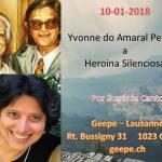"""""""Yvonne do Amaral Pereira, a Heroína Silenciosa"""", GEEPE-Lausanne, Switzerland (Suíça)"""