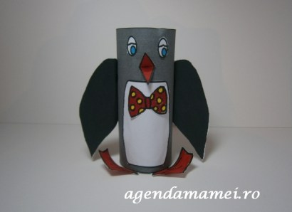 craft pinguin tub carton