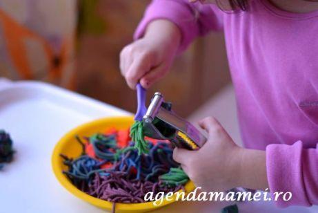 spagheti plastilina