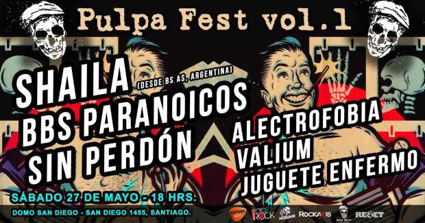 Afiche Pulpa Fest Vol1