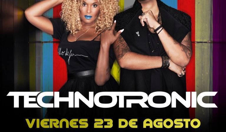 Technotronic vuelve con su dance y house a Chile: 23 de agosto