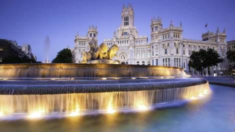 Plaza de Cibeles Madrid Spagna