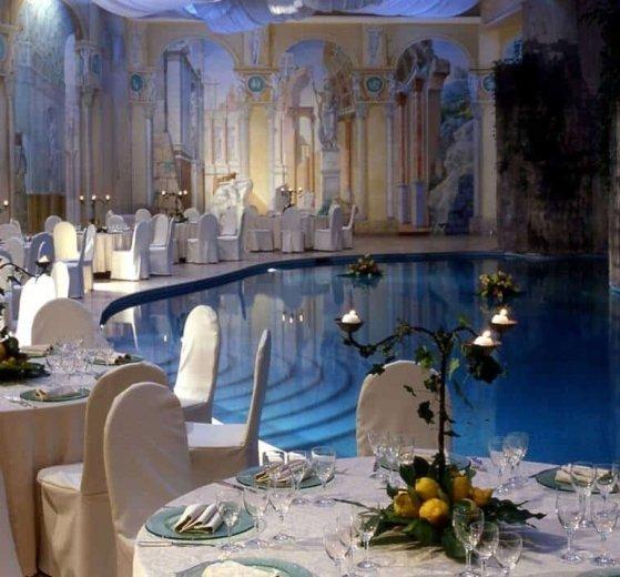 Piscina interna Hilton Palace Sorrento