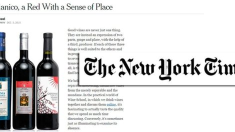 aglianico new york times