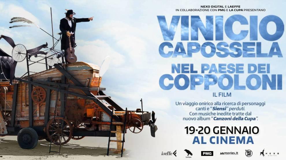 """Al Cinema arriva """"Nel paese dei coppoloni"""" di Capossela"""