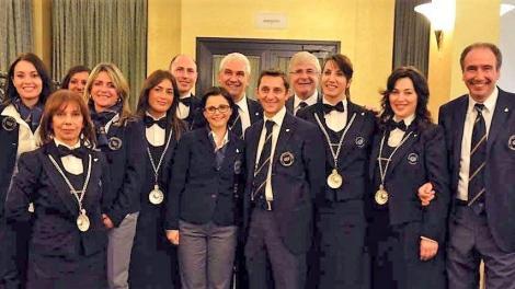 Una delegazione dell'AIS di Avellino