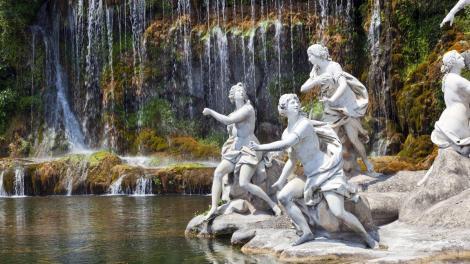 I giardini della Reggia di Caserta