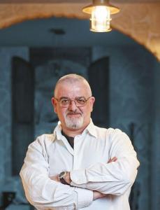 Francesco Pedace, il patron del ristorante Le Vie delle taverne di Atripalda (A)