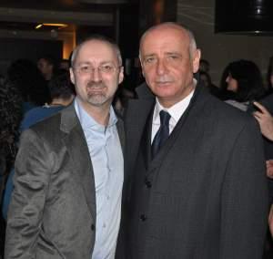 Marcantonio Lallo con Lino Sorrentini