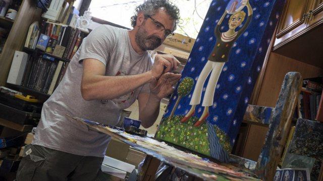 Gennaro Vallifuoco in una foto di Maurizio Raffaele