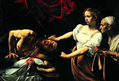 Il dipinto Giuditta e Oloferne di Caravaggio