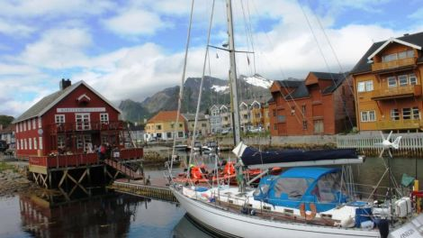 Porticciolo isole Lofoten