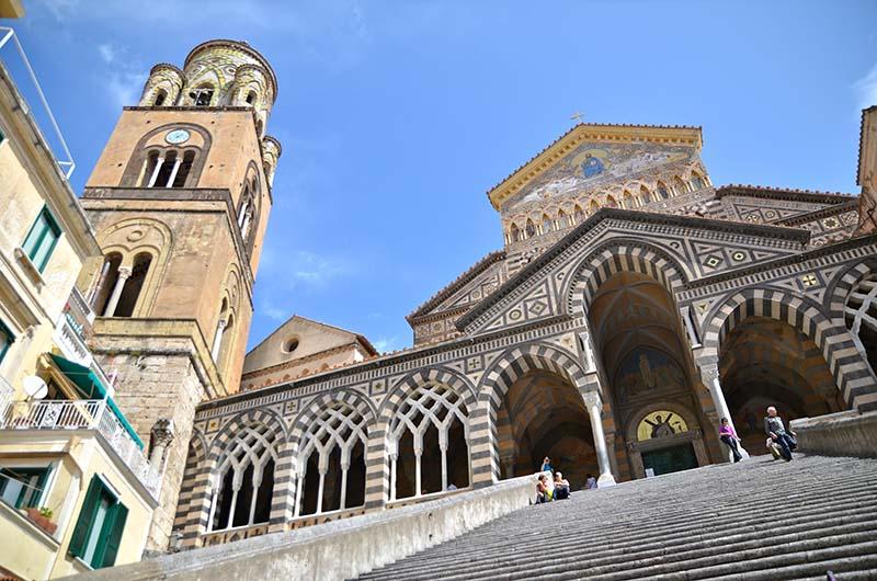 Il Duomo di Amalfi in Campania