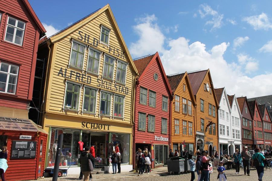 Bergen in Norvegia
