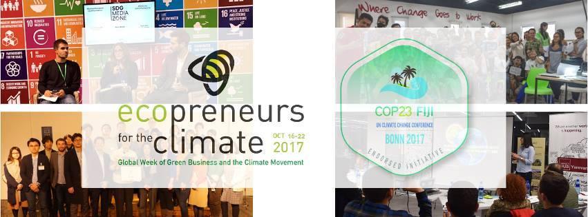 Ecopreneurs pour le climat 2017