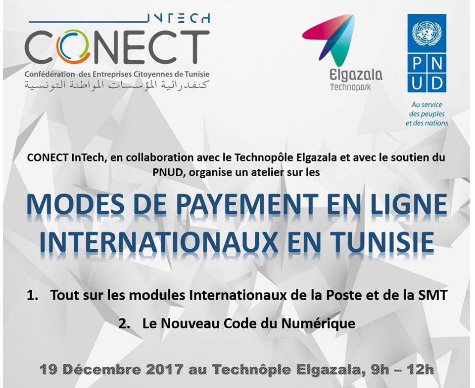 Modes de Payement en ligne Internationaux en Tunisie