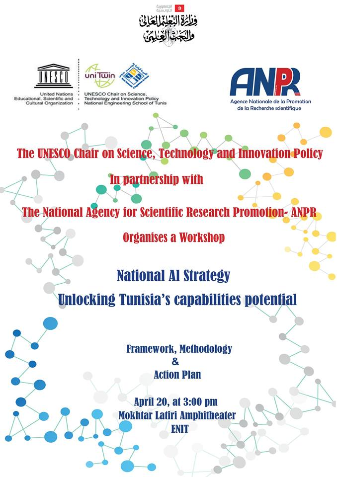 """National AI Strategy: Unlocking Tunisia's capabilities potential."""